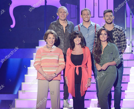 Picture Shows:  I'M a Celebrity Stars - Jimmy Bullard, Joe Swash, Jake Quickenden, Edwina Currie, Vicki Michelle and Nadia Forde
