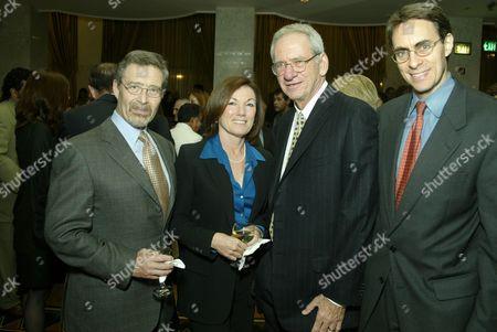 Barry Meyer, Wendy Meyer, Sid Sheinberg, Ken Roth
