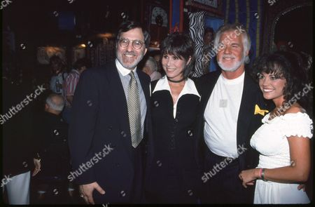 Stock Image of Fred Rapoport, Michele Lee, Kenny Rogers