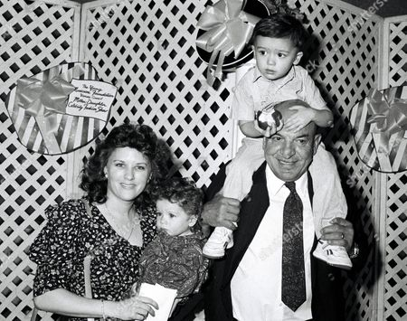 Telly Savalas and family