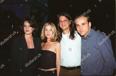 Liza Snyder, Christina Applegate, John Lehr and David Deluise