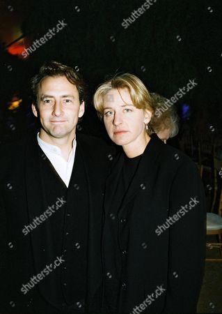 Arye Gross and Ellen Degeneres