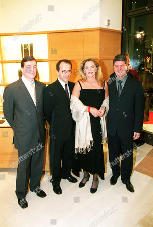 Stock Image of Ron Michaels, Jean-Marc Loubier, Louis Vuitton, Kathleen Turner