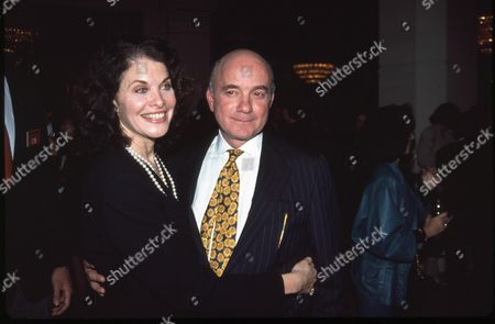 Stock Image of Sherry Lansing and Stanley Jaffe