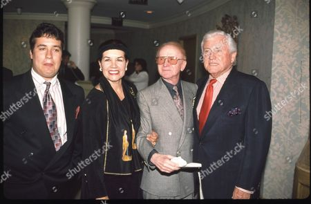 Red Buttons and family and Merv Griffin
