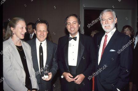 Michael Mann, Brandon Tartikoff and Leonard Goldberg