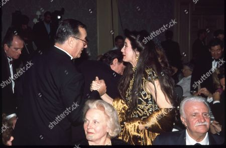 Sirio Maccioni and Barbara Lazaroff