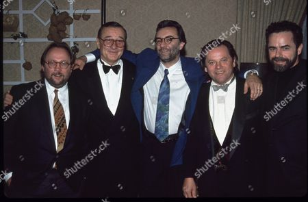 J. Splichal, Sirio Maccioni, A. Ducasse, W. Puck & D. Bouley