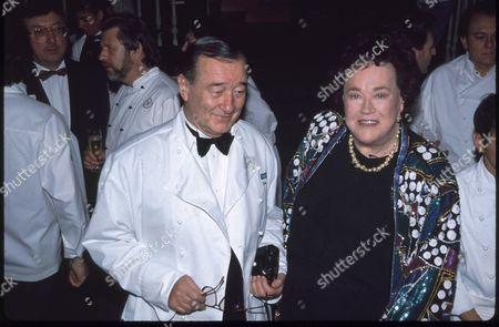 Sirio Maccioni and Julia Child