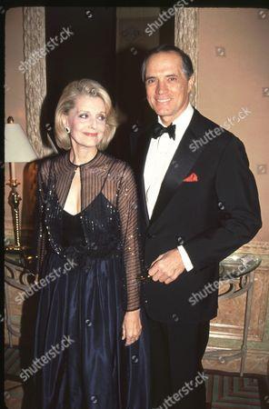 Constance Towers and husband John Gavin