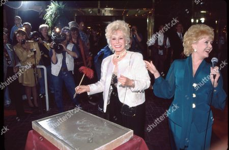 Eva Gabor and Debbie Reynolds