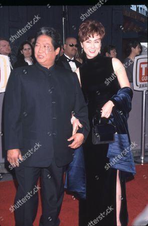 Sammo Hung Kam-Bo and Joyce Godenzi