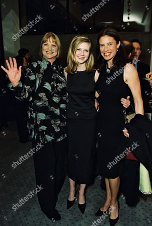 Louise Fletcher, Kirsten Dunst and Mimi Rogers