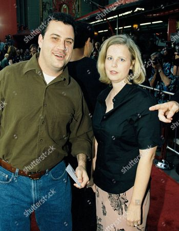 Jimmy Kimmel and wife Gina Kimmel