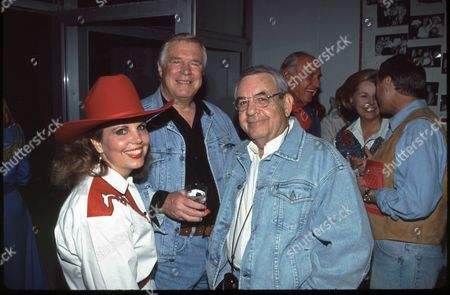 Stock Picture of Laurie Peppard, George Peppard & Tom Bosley