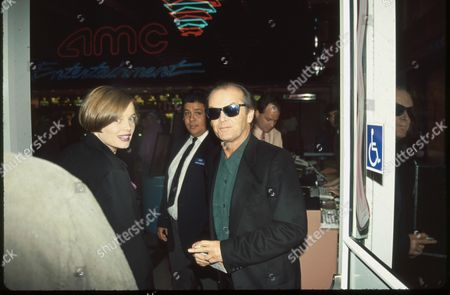 Stock Photo of Rebecca Broussard and Jack Nicholson