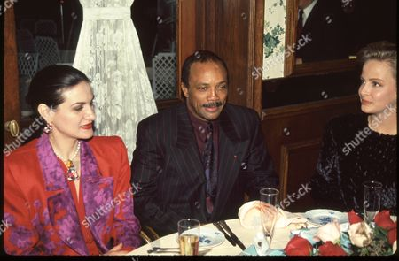 Paloma Picasso, Quincy Jones & Amy Brown