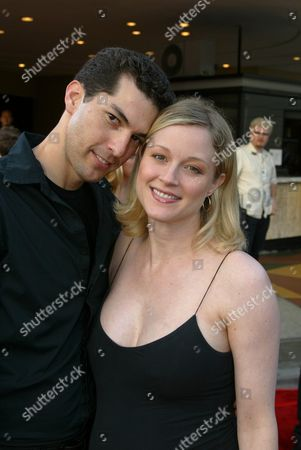 Tony Moore and wife Teri Polo