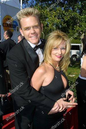 """04/22/01 Hollywood, CA Christopher Titus and wife, Erin at Comedy Centrals' """"15th Annual American Comedy Awards"""",  honoring comedians in the field of motion pictures and network cable and syndicated television. The event was held at Universal Studios Hollywood - """"Z"""" lot, and will air on Comedy Central on Wednesday, April 25 at 8:00PM ET/PT. Photos®Berliner Studio/BEI"""
