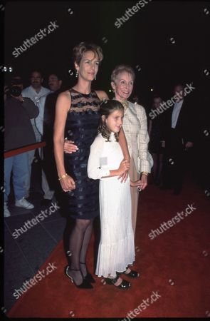 Jamie Lee Curtis, daughter Annie and Janet Leigh