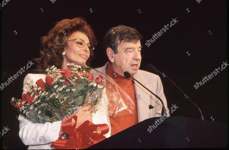 Sophia Loren and Walter Matthau