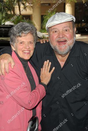 Carol Arthur and Dom DeLuise