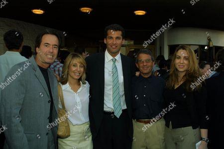 Rick Finkelstein, Stacey Snider, Scott Stuber,  Ron Meyer and Ma