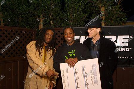 Will Calhoun, Corey Glover(Living Colour) and Stewart Copeland