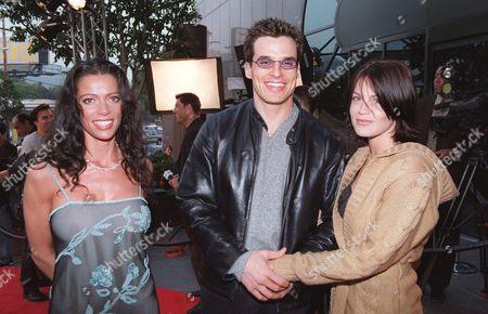 Stock Photo of Carlton Elizabeth, Antonio Sabato Jr. and Kristen Rossetti