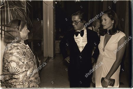 Stock Photo of Jody Jacobs, Robert Evans, Barbara Carrera
