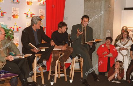 Jay Leno, Jonathan Taylor Thomas and Jeff Goldblum