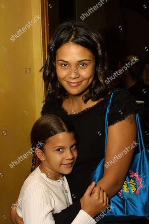 Kenya Jones and Kidada Jones