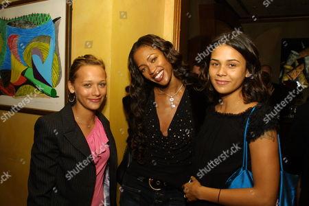 Rashida Jones Naomi Campbell and Kidada Jones
