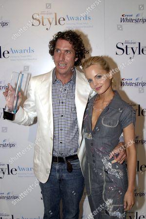 Winner for Best Hair Stylist Chris McMillan and Mena Suvari