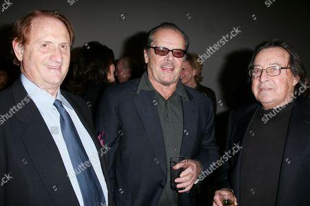 Michael Medavoy, Jack Nicholson & Paul Mazursky