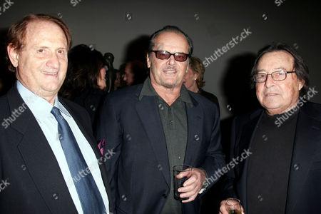 Michael Medavoy, Jack Nicholson and Paul Mazursky