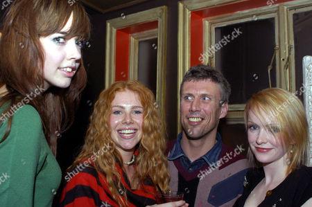 Candice Liebech, Monica Ward and Bez
