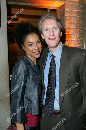 Sophie Okonedo and Chris McGurk