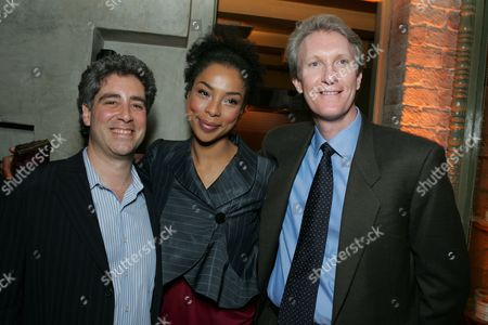 Danny Rosett, Sophie Okonedo and Chris McGurk