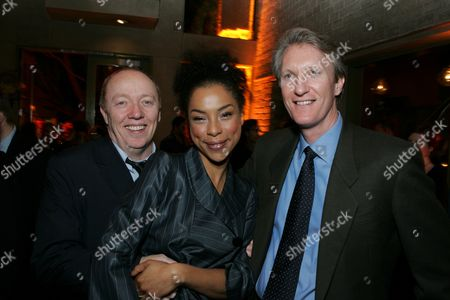 Terry George, Sophie Okonedo and Chris McGurk