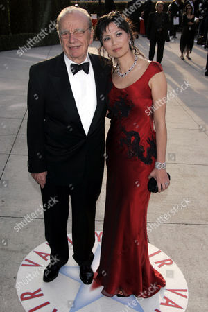 Rupert Murdoch with Wendi Deng