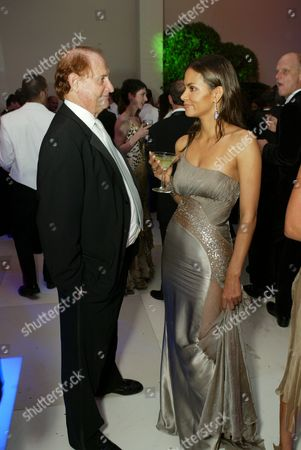 Michael Medavoy and Halle Berry