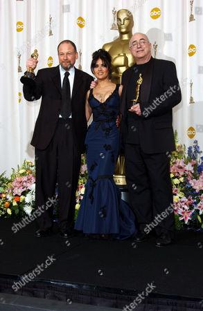 Michael Silvers, Salma Hayek and Randy Thom (sound editing)