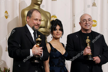 Robert Hudson, Salma Hayek and Bobby Houston