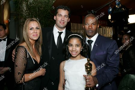 Mary Parent, Scott Stuber, Marie Foxx & Jamie Foxx