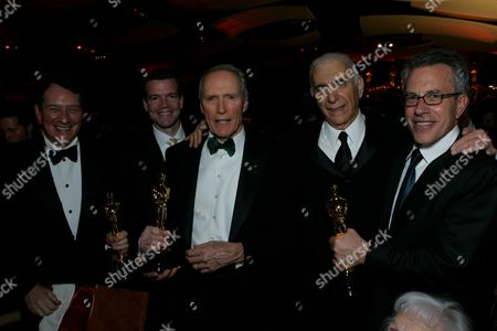 Gary Lucchesi, Clint Eastwood, Al Ruddy & Tom Rosenberg