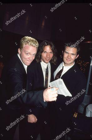 Anthony Michael Hall, Eric Than & Osgood Perkins