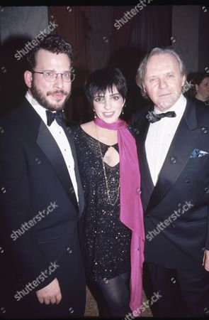 Billy Stritch and Liza Minnelli and Anthony Hopkins