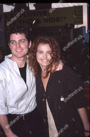 Greg Meyer and Dina Meyer