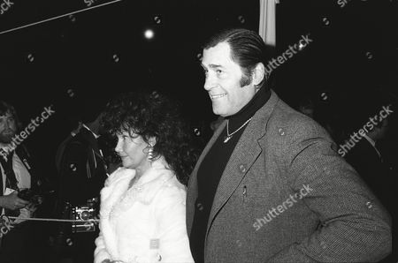 Stock Image of Mrs Clint Walker and Clint Walker